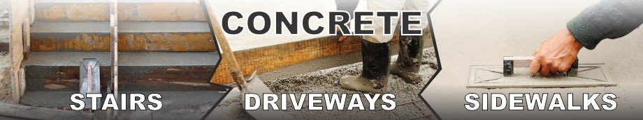 Masonry contractor Chicago - Concrete stairs, driveways and sidewalks by EDMAR Corporation