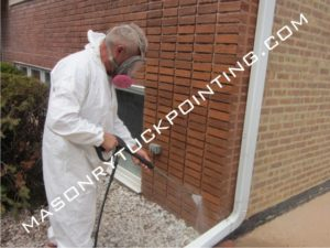 Pressure washing Hinsdale IL by Edmar Corporation (847) 724-5600