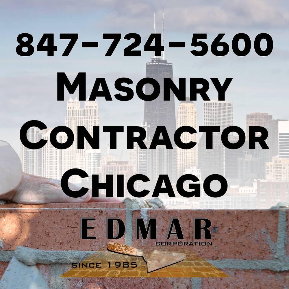 Masonry Contractor Chicago - EDMAR Corporation 847-724-5600