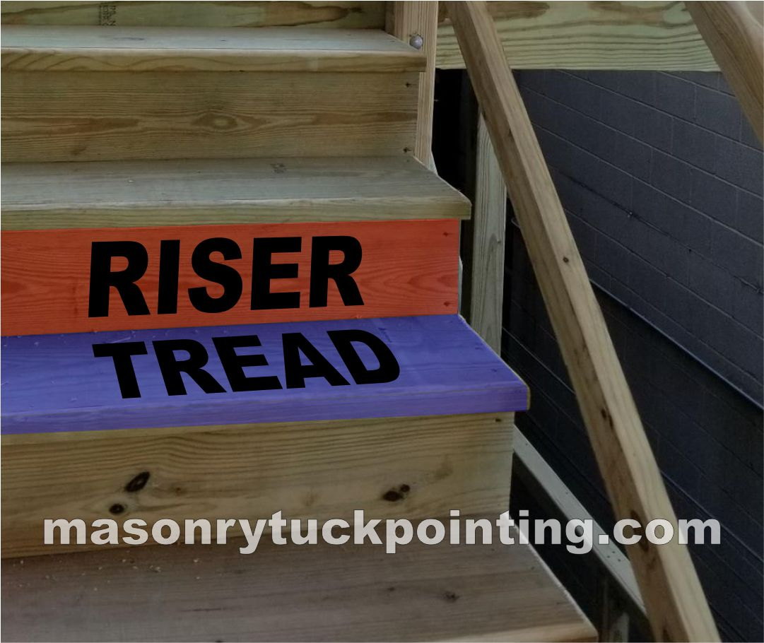 Treads and Risers - Porch Building by EDMAR Corporation